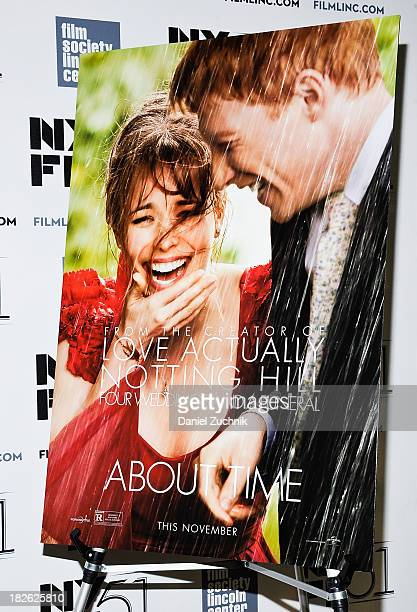 A general view of atmosphere during the About Time premiere during the 51st New York Film Festival at Alice Tully Hall at Lincoln Center on October 1...