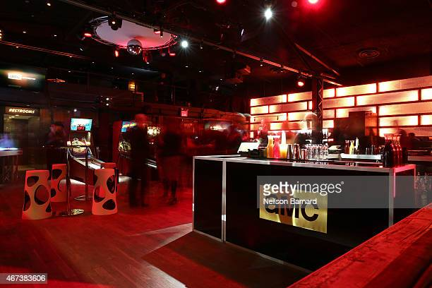 A general view of atmosphere during the AMC Ad Sales Event celebrating AMC's 'The Walking Dead' at The Highline Ballroom on March 23 2015 in New York...