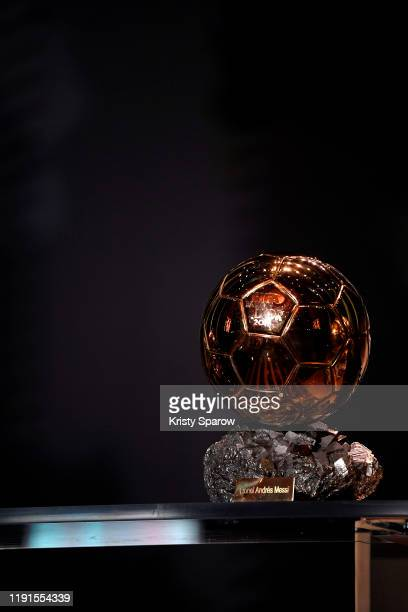 A general view of atmosphere during the Ballon D'Or Ceremony at Theatre Du Chatelet on December 02 2019 in Paris France