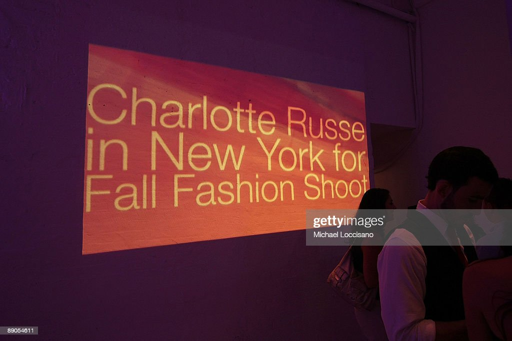 """""""Charlotte Russe Fall 2009 Launch Event"""" : News Photo"""
