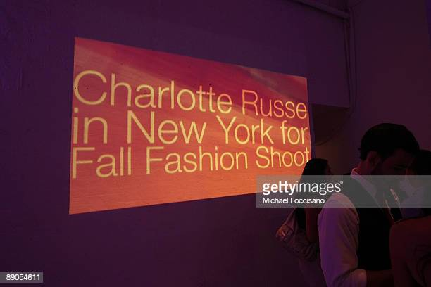 General view of atmosphere during the Charlotte Russe Fall 2009 launch event at Openhouse Gallery on July 15 2009 in New York City