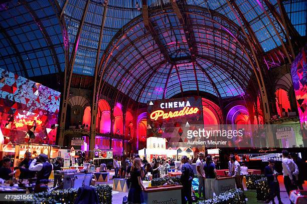 A general view of atmosphere during the 'Cinema Paradiso' opening ceremony at Grand Palais on June 16 2015 in Paris France
