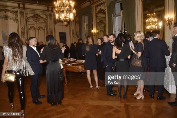 "General view of atmosphere during the Cocktail ""Karine Ohana And Co"" Hosted by Katia Solotsinskaya, Karine Ohana and Mikhail Makarov as part of Paris..."