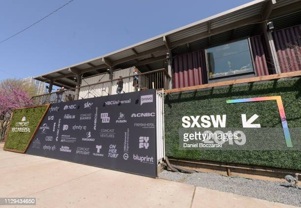 General view of atmosphere during the Comcast NBCUniversal House at SXSW on March 9, 2019 in Austin, Texas.
