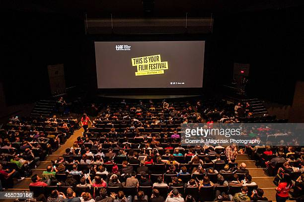 """General view of atmosphere during the """"Cub"""" premiere at the Toronto International Film Festival at Ryerson Theatre on September 10, 2014 in Toronto,..."""