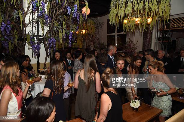 A general view of atmosphere during the CW Network's 2015 Upfront party at Park Avenue Spring on May 14 2015 in New York City
