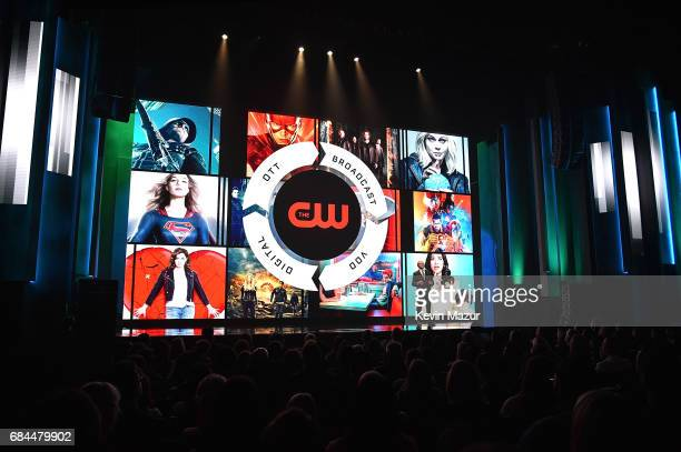 A general view of atmosphere during The CW Network's 2017 Upfront at New York City Center on May 18 2017 in New York City