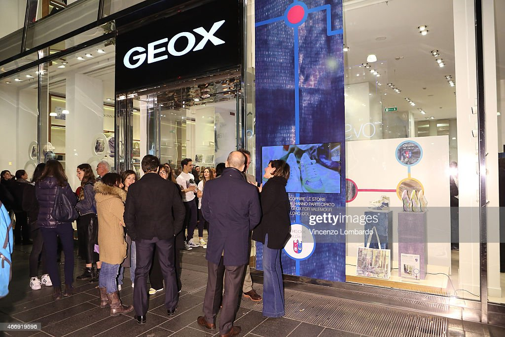 'Geox For Valemour' Boutique Cocktail : News Photo