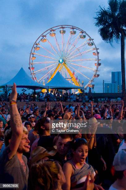 A general view of atmosphere during The Hangout Beach Music and Arts Festival on May 14 2010 in Gulf Shores Alabama
