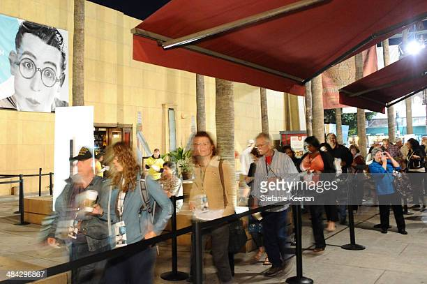 A general view of atmosphere during 'The Italian Job' Screening during the 2014 TCM Classic Film Festival at The Egyptian Theatre on April 11 2014 in...
