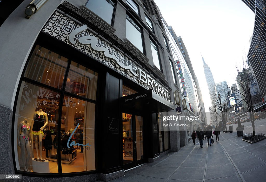 A general view of atmosphere during the Lane Bryant 34th Street Flagship Store Opening & Ribbon Cutting on March 1, 2013 in New York City.