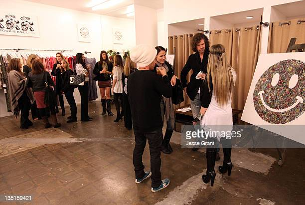 A general view of atmosphere during the 'Lauren Moshi Gallery for Free Arts for Abused Children' event at Lauren Moshi Gallery on December 6 2011 in...