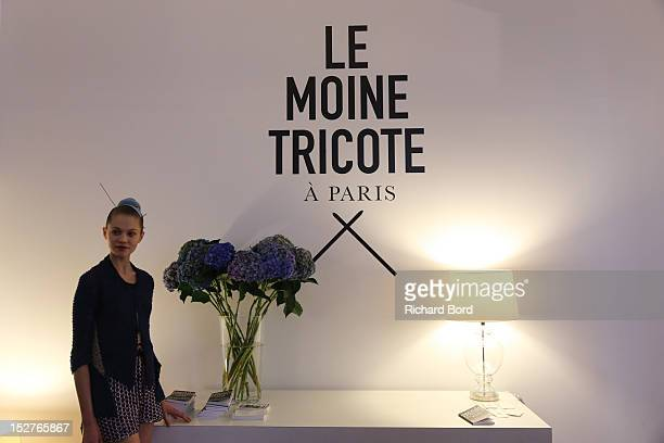 A general view of atmosphere during the Le Moine Tricote Spring / Summer 2013 show as part of Paris Fashion Week on September 25 2012 in Paris France