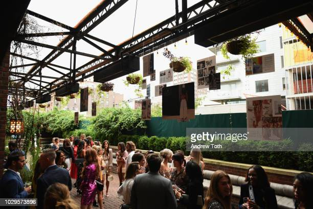 A general view of atmosphere during the LIKEtoKNOWit official book launch celebration during NYFW at The Bowery Hotel on September 8 2018 in New York...