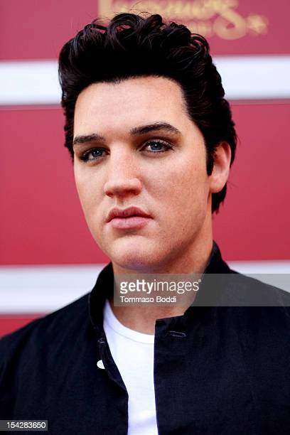 A general view of atmosphere during the Madame Tussauds Hollywood unveils firstever Elvis wax figure and dolds fried peanut butter and banana...