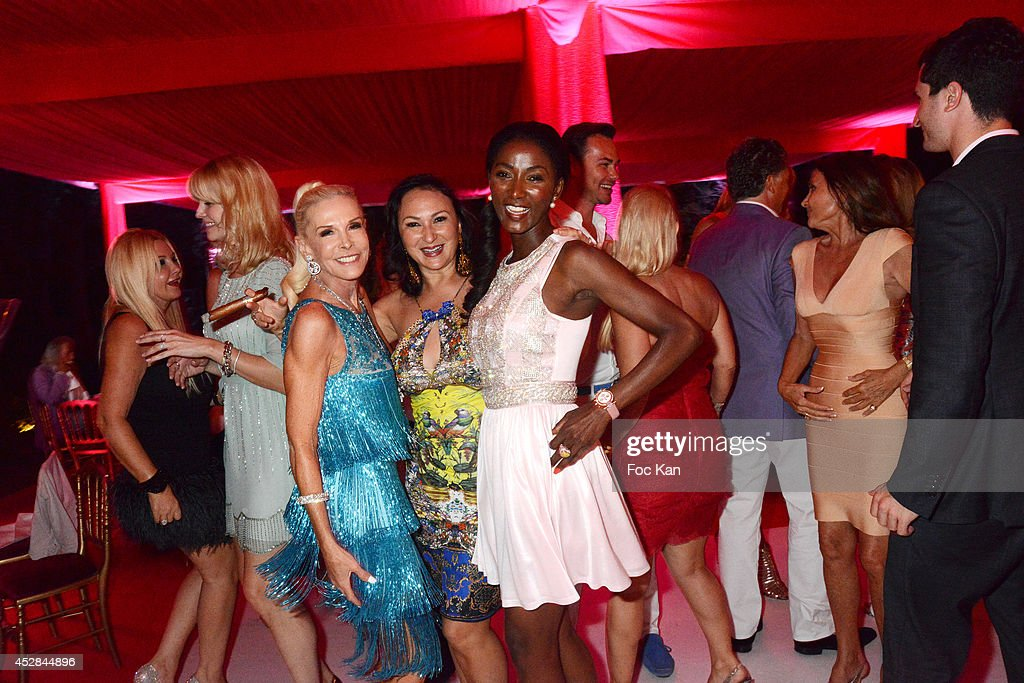 A general view of atmosphere during the Monika Bacardi Summer Party 2014 St Tropez at Les Moulins de Ramatuelle on July 27, 2014 in Saint Tropez, France.