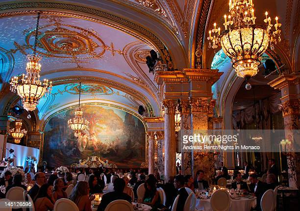 A general view of atmosphere during the 'Nights In Monaco' Gala Fundraiser equally benefiting The Prince Albert II of Monaco Foundation and the...