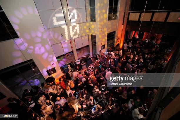 A general view of atmosphere during the Opening Night Party at the Legacy Lodge during the 2010 Sundance Film Festival on January 21 2010 in Park...