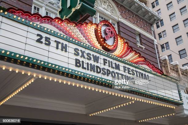 General view of atmosphere during the premiere of 'Blindspotting' during the 2018 SXSW Film Festival at The Paramount Theatre on March 11 2018 in...