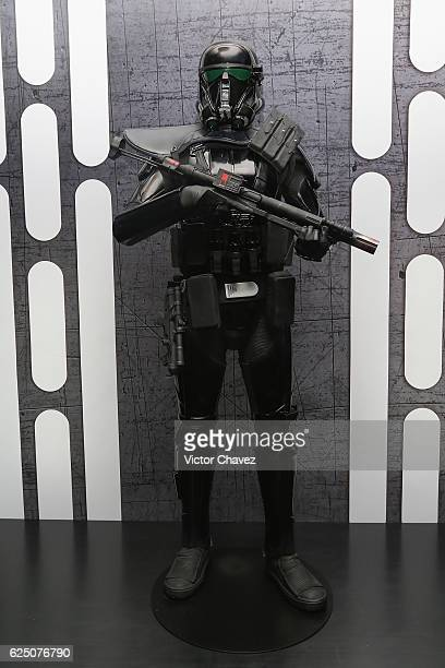 A general view of atmosphere during the press conference and photocall to promote the film Rogue One A Star Wars Story at St Regis Hotel on November...