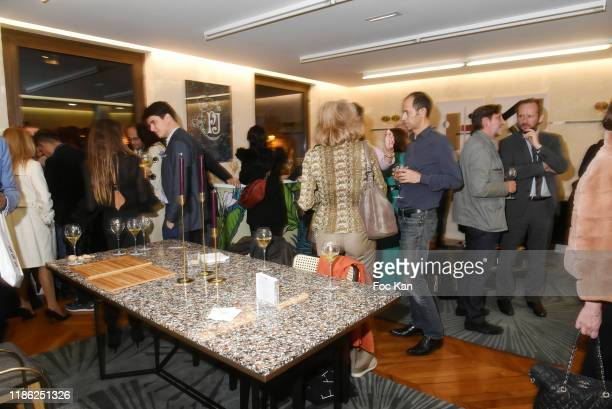 A general view of atmosphere during the Red X BHV Marais Ephemere Boutique Launch Party on November 07 2019 in Paris France