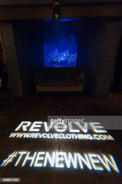 A general view of atmosphere during the REVOLVE relaunch party on February 11 2014 in New York City