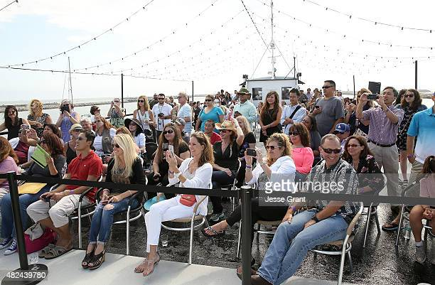 A general view of atmosphere during the Rick Springfield Rocks The Boat For Ricki and the Flash event on July 30 2015 in Marina del Rey California