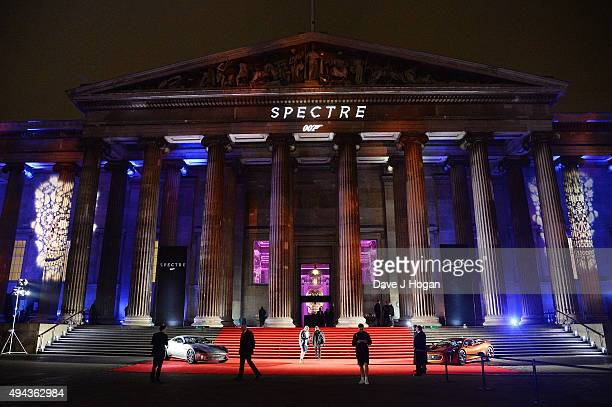 A general view of atmosphere during the Royal World Premiere after party of Spectre at The British Museum on October 26 2015 in London England