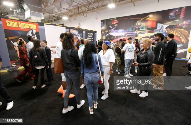 A general view of atmosphere during the Sneakertopia Los Angeles VIP Preview at HHLA on October 24 2019 in Los Angeles California