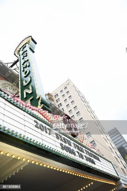 A general view of atmosphere during the 'Song To Song' premiere 2017 SXSW Conference and Festivals at Paramount Theatre on March 10 2017 in Austin...
