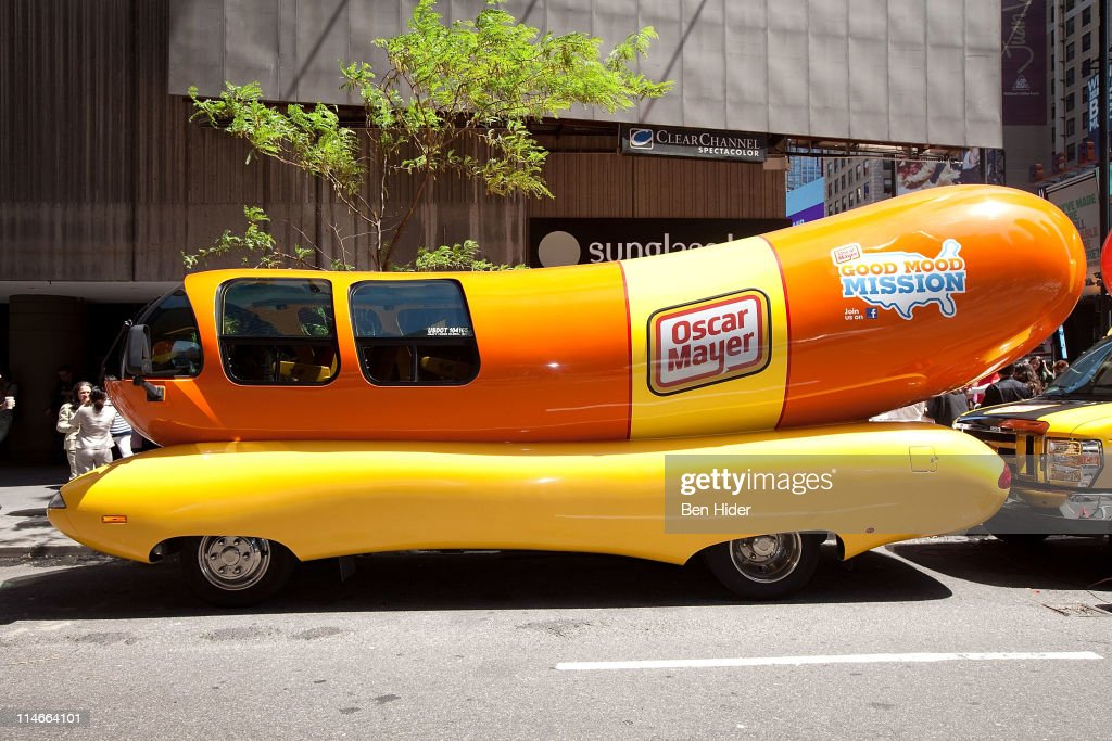 Special edition wienermobile food truck debut in celebration of
