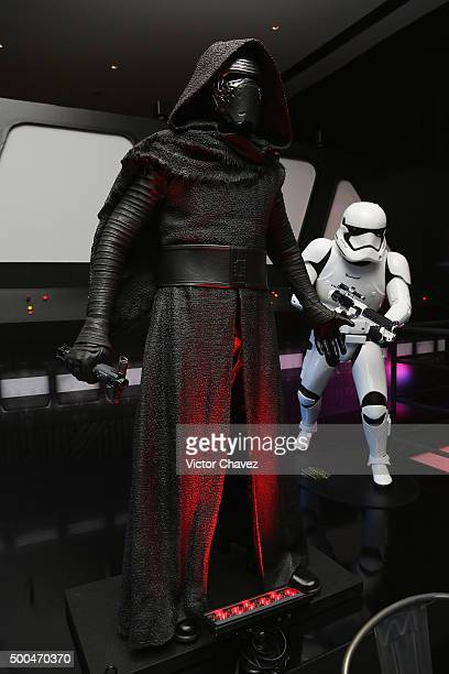 A general view of atmosphere during the Star Wars The Force Awakens Mexico City photo call at St Regis Hotel on December 8 2015 in Mexico City Mexico