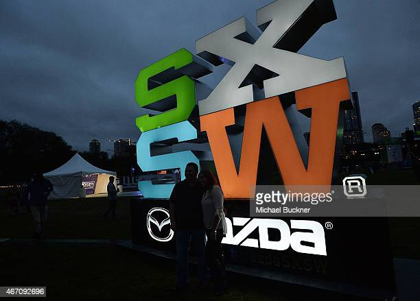 General view of atmosphere during the SXSW 2014 during the 2015 SXSW Music, Film + Interactive Festival at Paramount Theatre on March 20, 2015 in...