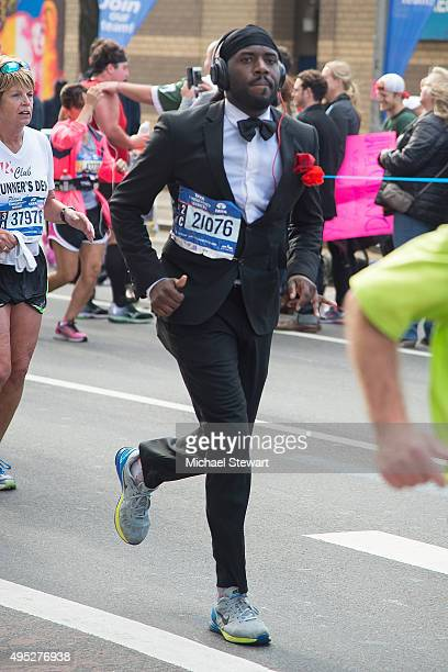 A general view of atmosphere during the TCS New York City Marathon on November 1 2015 in New York City