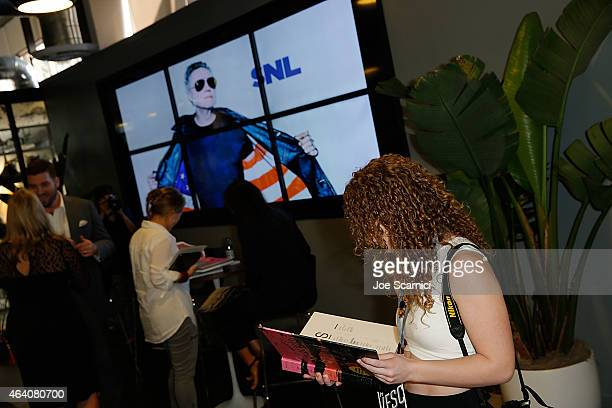 A general view of atmosphere during the Vanity Fair Campaign Hollywood Social Club Behind the Pages Taschen Presents Saturday Night Live The Complete...