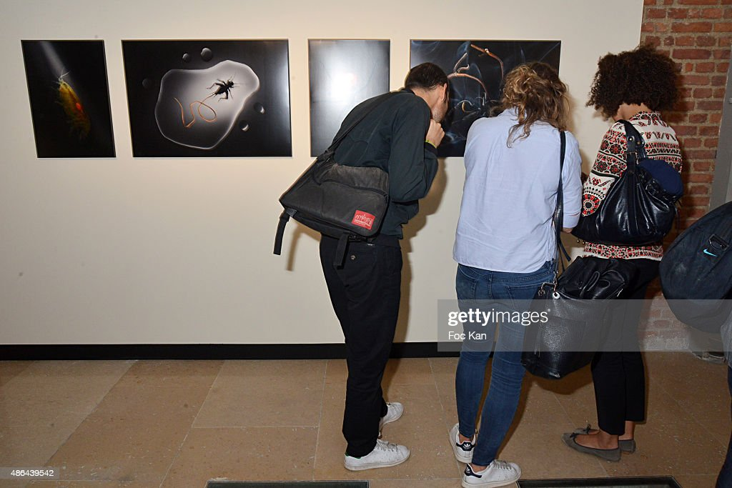 A general view of atmosphere during the World Press 2015 Exhibition Preview at Galerie Azzedine Alaia on September 3, 2015 in Paris, France.