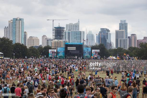 A general view of atmosphere during weekend one day two of Austin City Limits Music Festival at Zilker Park on October 7 2017 in Austin Texas