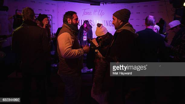 General view of atmosphere in the Tone It Up Wellness Lounge during the Sundance Film Festiva on January 21, 2017 in Park City, Utah.