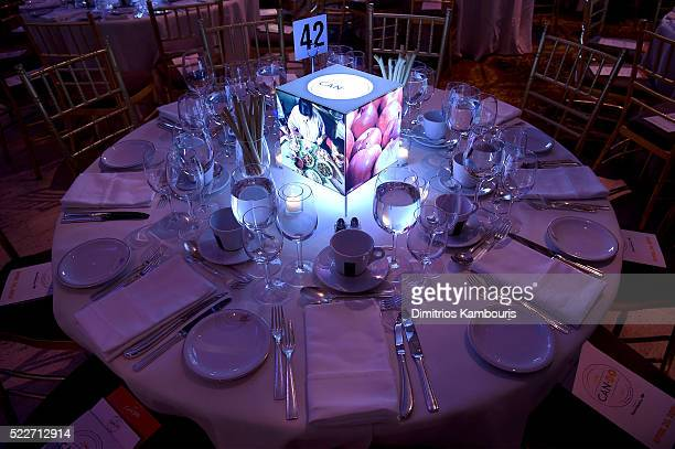 A general view of atmosphere inside the event at the Food Bank Of New York City's Can Do Awards 2016 hosted by Mario Batali at Cipriani Wall Street...