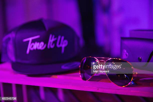 General view of atmosphere inside the Tone It Up Wellness Lounge during the Sundance Film Festiva on January 21, 2017 in Park City, Utah.