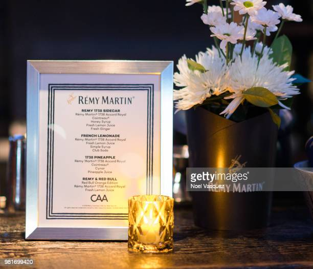 General view of atmosphere is displayed at the CAA Remy Martin celebrate collaborative success party at Luchini on June 21 2018 in Los Angeles...