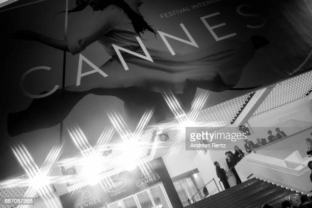 A general view of atmosphere is pictured at the 'The Killing Of A Sacred Deer' screening during the 70th annual Cannes Film Festival at Palais des...