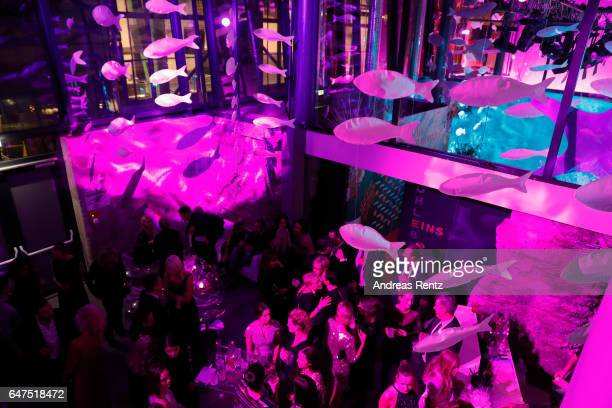 General view of atmosphere is pictured during the Glammy Award 2017 on March 2, 2017 in Munich, Germany.