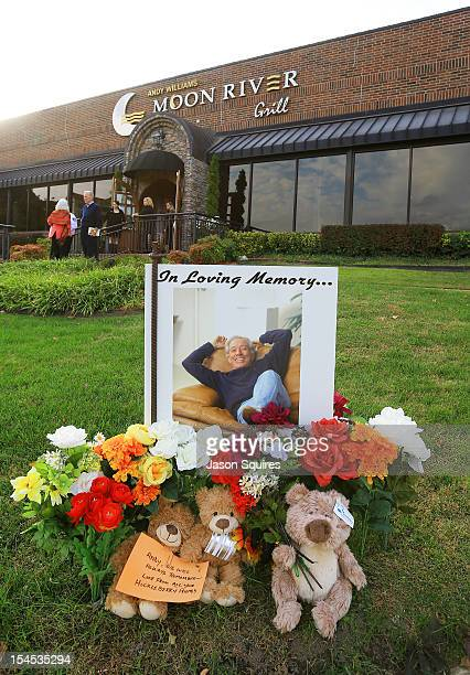 A general view of atmosphere is seen at a memorial service for entertainer Andy Williams on October 21 2012 in Branson Missouri Williams died on...