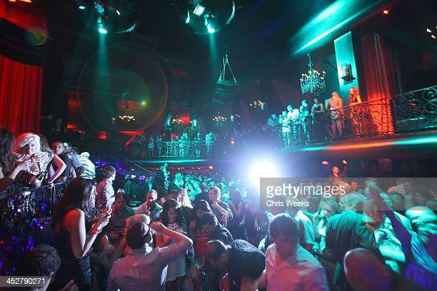 A general view of atmosphere is seen at LAX Nightclub on October 14 2009 in Las Vegas NV