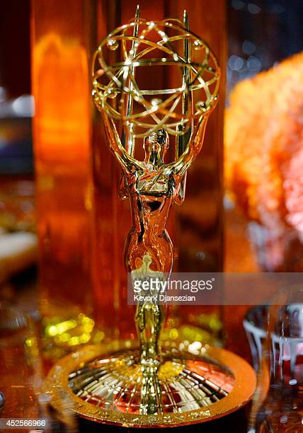 A general view of atmosphere is seen at the 66th Annual Primetime Emmy Awards 2014 Creative ArtsGovernors Ball sneak peek press preview July 23 at...