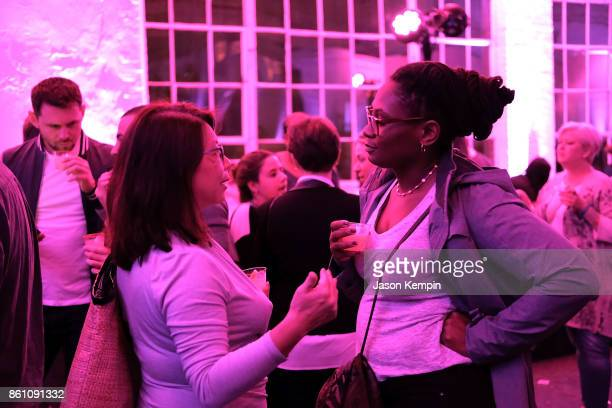 A general view of atmosphere is seen at the Food Network Cooking Channel New York City Wine Food Festival Presented By CocaCola Ladies' Night Craft...