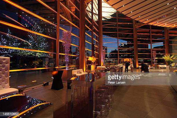 A general view of atmosphere is seen during the gala premiere screening of Dallas after party hosted by TNT and Warner Horizon at the Winspear Opera...