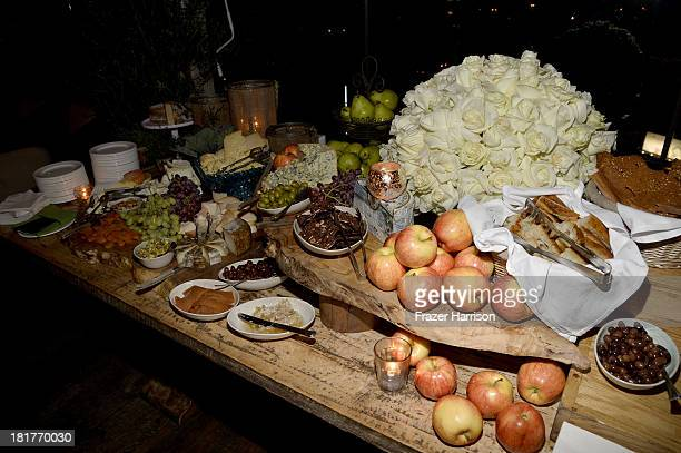 A general view of atmosphere is seen during the premiere of Relativity Media's 'Romeo And Juliet' after party at Soho House on September 24 2013 in...