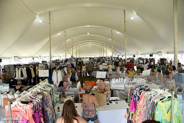A general view of atmosphere OCRFA's 19th Annual Super Saturday NY Hosted by Kelly Ripa Donna Karan and Gabby Karan de Felice on July 30 2016 in...